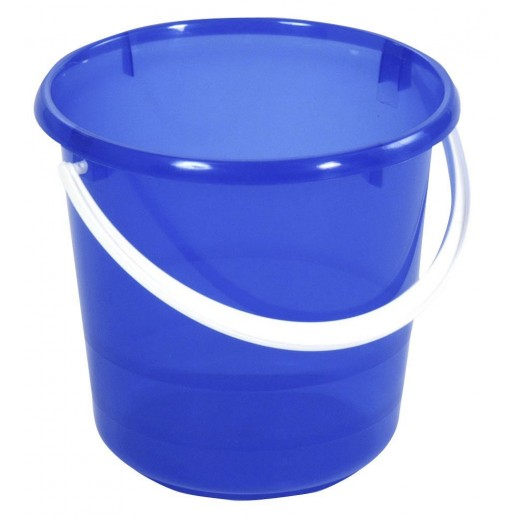 Spand transparant-blå 5 ltr-30