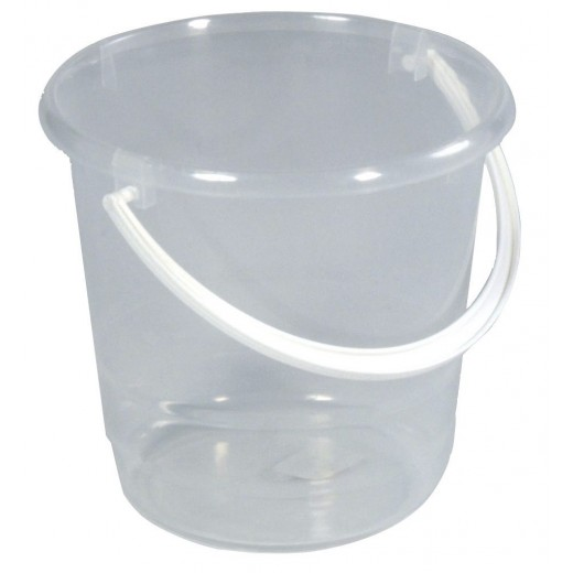 Spand transparant-klar 5 ltr-30