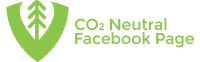 CO2 neytral facebookside